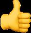 thumbsup emoji